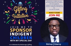 JOIN ME TO GIFT EDUCATION TO 200 INDIGENT CHILDREN