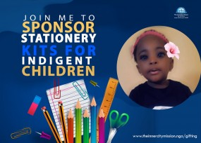 JOIN ME TO SPONSOR SCHOOL KITS FOR OUT OF SCHOOL CHILDREN