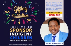 Join me feed 2,000 hungry indigent children as I celebrate my birthday