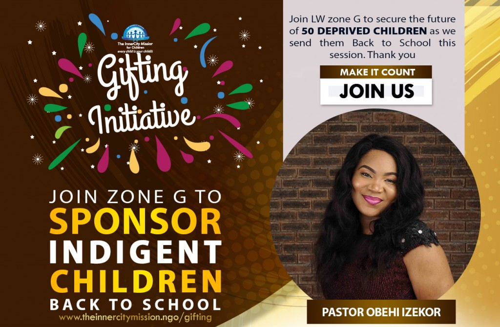 JOIN ME TO SEND 50 CHILDREN BACK TO SCHOOL