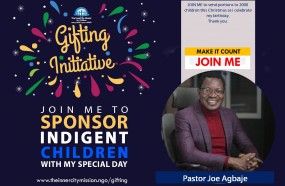JOIN ME TO SEND PORTIONS TO 2000 INDIGENT CHILDREN THIS CHRISTMAS