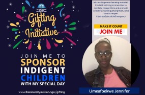 JOIN ME TO SPONSOR LEARNING MATERIALS FOR CHILDREN IN INNERCITIES