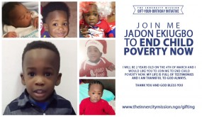 Join me Jadon Ekiugbo to End Child Poverty Now