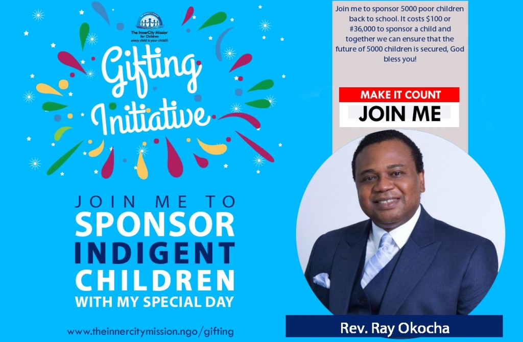 GIFT 5000 CHILDREN WITH EDUCATION