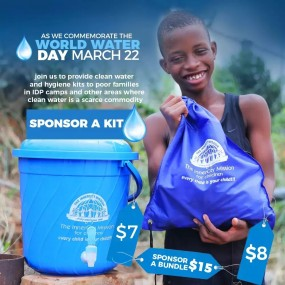 Join HVN UK Chapter to Sponsor 200 Water and Hygiene Kits
