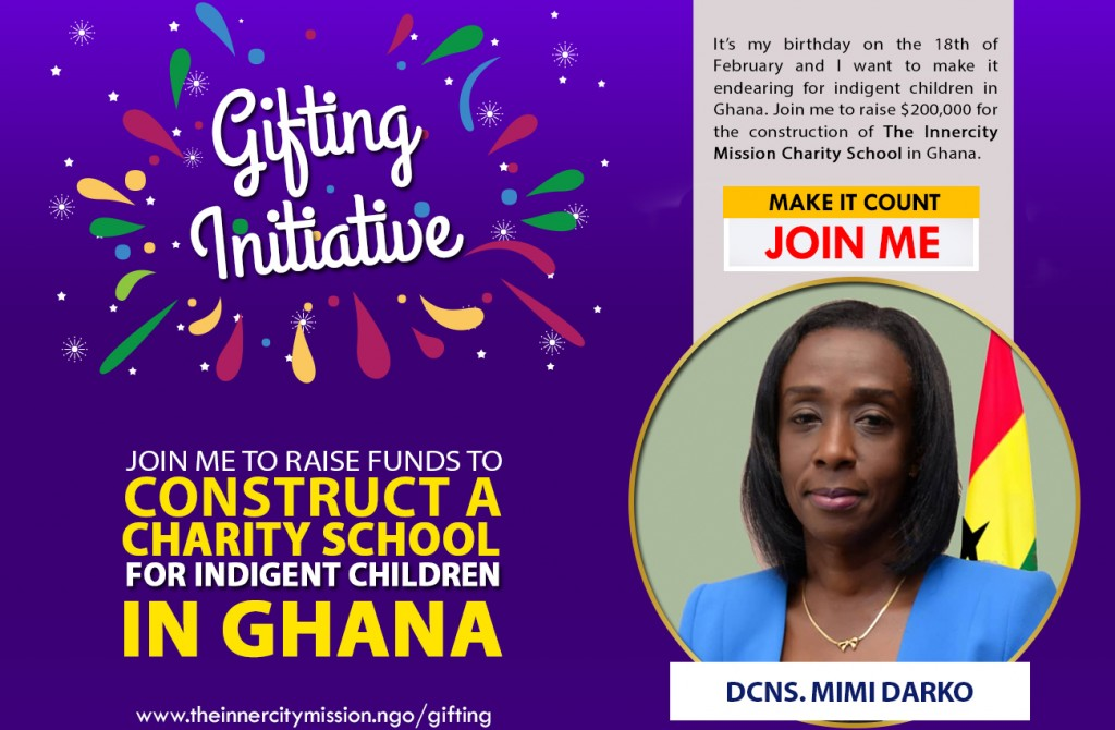 JOIN ME TO CONSTRUCT A CHARITY SCHOOL IN GHANA