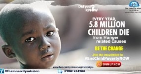 Join Me to Sponsor Free Meals for 280 Indigent Children