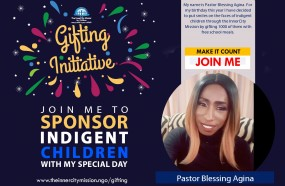 JOIN ME TO GIFT FREE MEALS TO 1000 INDIGENT CHILDREN