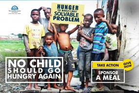 Let's Raise 20,000 meals to #EndChildPovertyNow