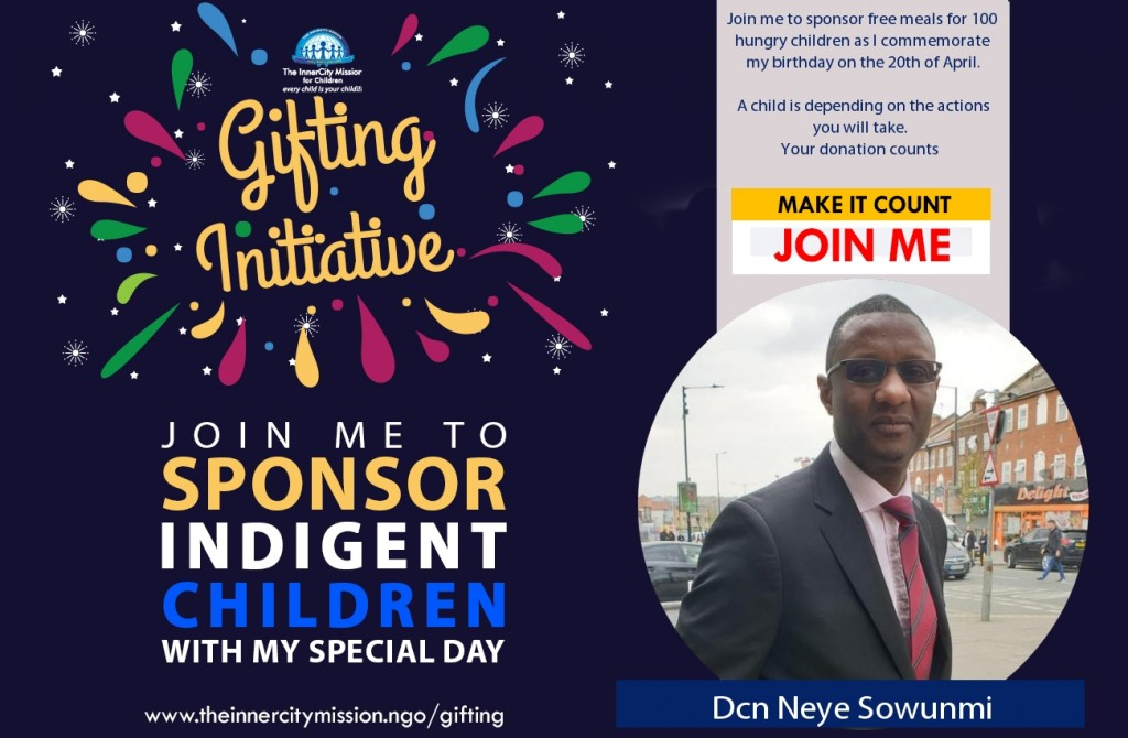 JOIN ME TO PUT SMILES ON THE FACES OF 100 CHILDREN
