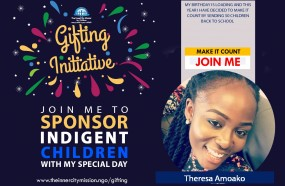 JOIN ME TO SPONSOR 50 CHILDREN BACK TO SCHOOL